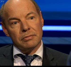 Wim Anker bij Oog in oog juni 2015 Jurist in communicatie